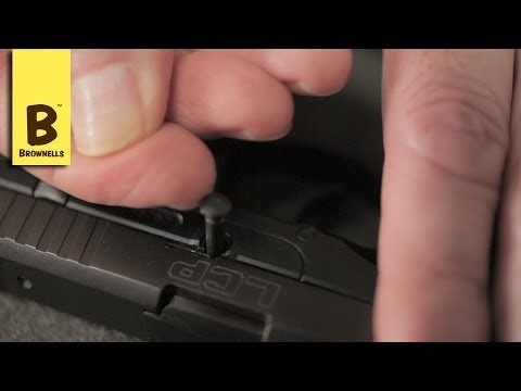 Firearm Maintenance: Ruger LCP Disassembly Part 1/4
