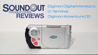 Digimon Digital Monsters Season 2 - D-Terminal [Soundout's Toy Chest]
