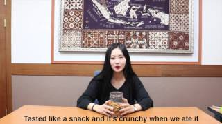 Korean Try Indonesian Snacks