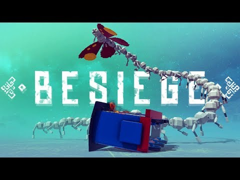 Nightmare Inducing Meme Machines - Giant Destructible Tower & More - Besiege Best Creations