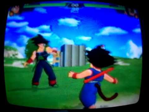 DBZ BT3 Kid Goku vs Bardock