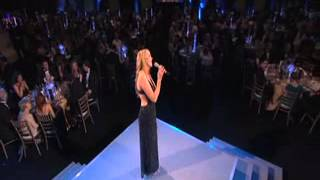Rebecca Winckworth singing at Ernst & Young Entrepreneur of the Year Awards 2012