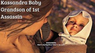 Assassin's Creed Odyssey Shadow Heritage DLC - Kassandra's Baby (Darius' Grandson)