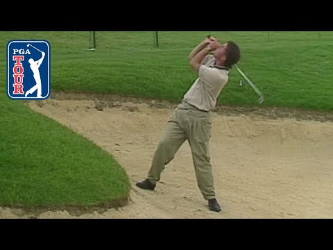 Phil Mickelson's reverse flop shot in 1995