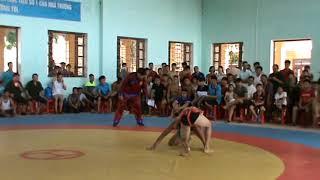 Giải vật dân tộc thanh thiếu niên 2016: Trận 43 hạng 51kg Hoàng Văn Lam HN VS Hà Văn Mải BG