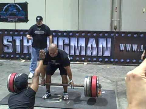 Professional Strongman Elliott Hulse wins 2009 Europa