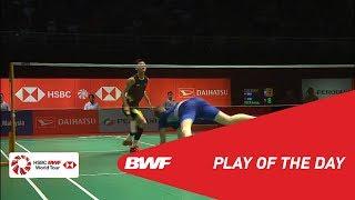 Play Of The Day   PERODUA Malaysia Masters 2019 SF   BWF 2019