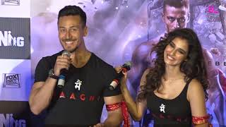 Tiger Shroff and Disha Patani's adorable PDA at the Baaghi 2 trailer launch cannot be missed!
