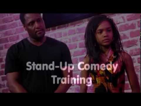 Quincy Bonds Teaching Stand-up and Improv