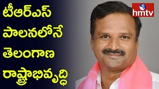 Devarkadra TRS Candidate Alla Venkateshwar Reddy House to House Campaign | hmtv