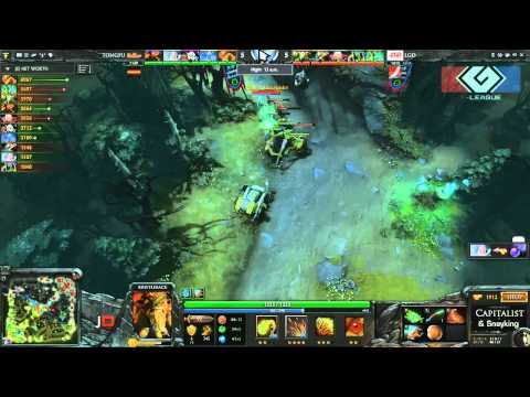 LGD.cn vs Tongfu Game 1 - G-League Group Stage DOTA 2 - TheCapitalist & Sneyking