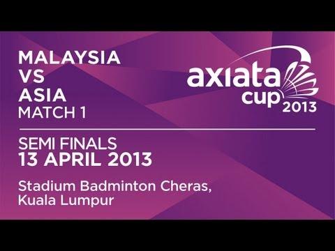Semi Finals - WS - Sonia Cheah Su Ya (MAS) vs Tai Tzu Ying (ASIA) - Axiata Cup 2013