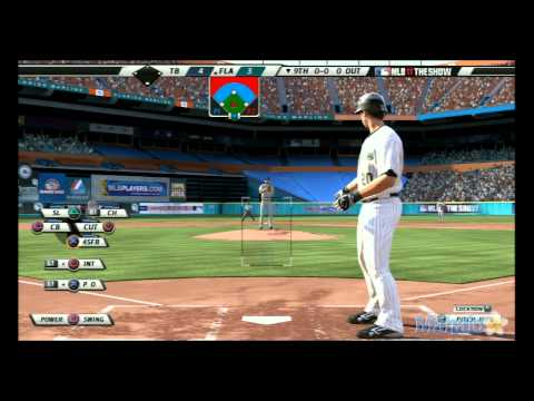 MLB 11 The Show - Tampa Bay Rays vs Florida Marlins at Sun Life Stadium - 9th Inning