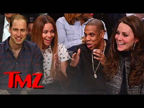 William, Kate, Beyonce, Jay Z ... Royalty, Meet Royalty