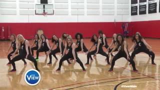 University of Cincinnati Dance Team Rock The #ViewSlide | The View