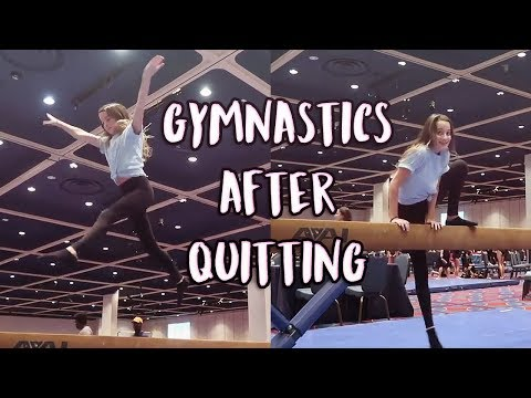 ANNIE LEBLANC'S GYMNASTICS AFTER QUITTING! 5 Months On Edit