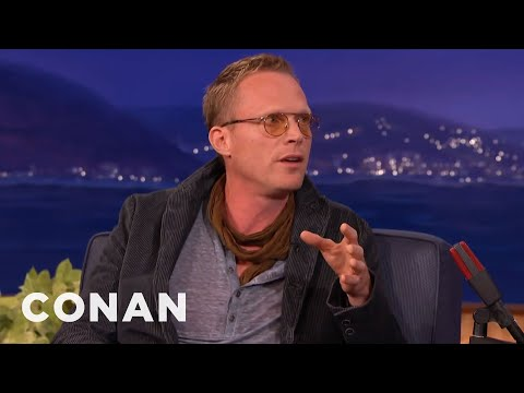 Paul Bettany's Humiliating London Dinner Party  - CONAN on TBS