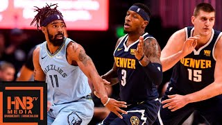 Memphis Grizzlies vs Denver Nuggets Full Game Highlights | 12.10.2018, NBA Season