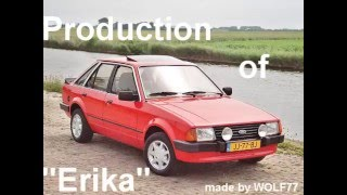 Ford Escort mk3 production
