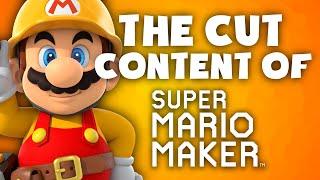Mario Maker Cut Content - Items, Enemies and More! - The Cut Content Of: Super Mario Maker - TCCO