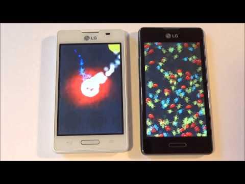 LG Optimus L4 II vs  LG Optimus L5 II - Full test