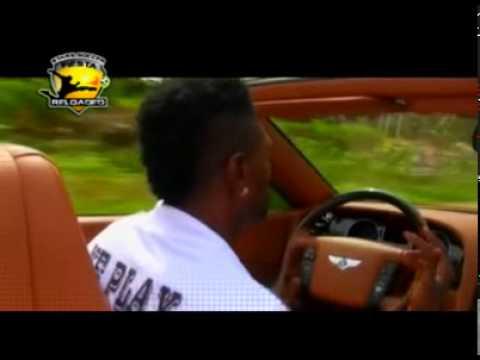 Asamoah Gyan and Emmanuel Adebayor talking up Star Soccer Fiesta