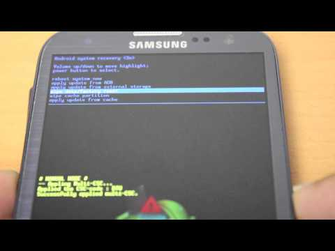 How to reset Samsung Galaxy S3 password if its lost / forgotten
