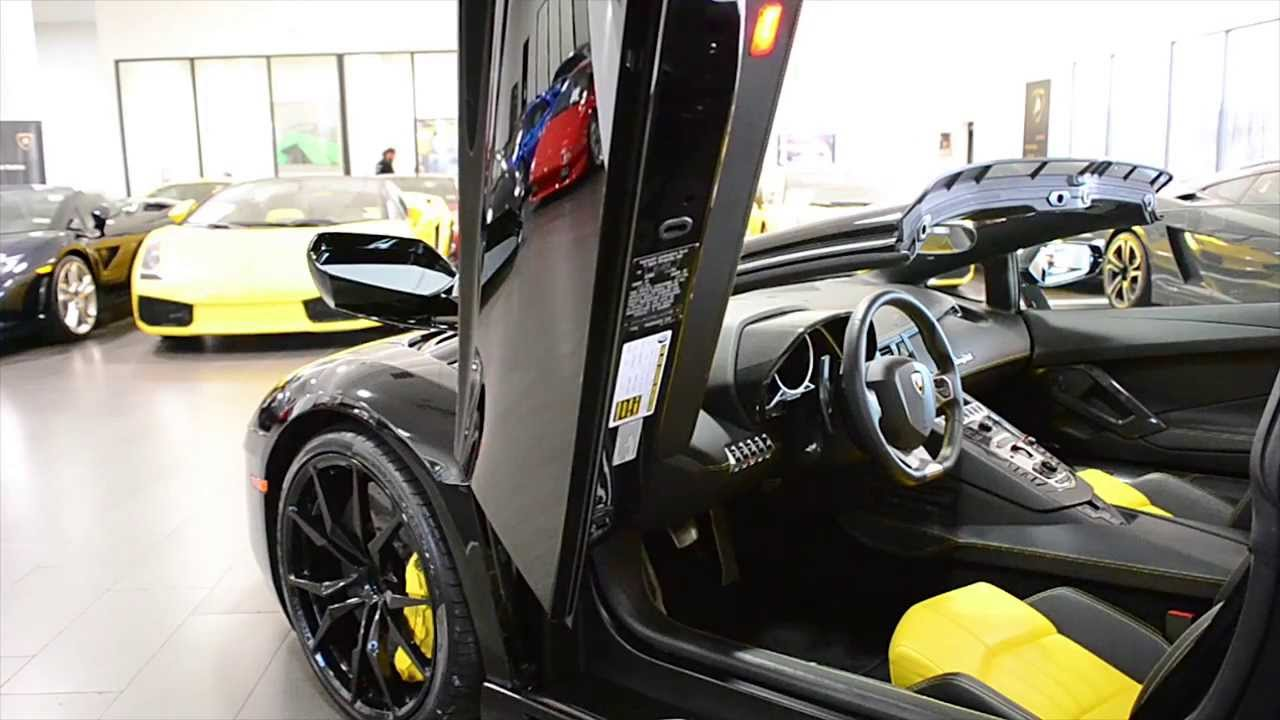 2014 Lamborghini Aventador Lp 700 4 Roadster Nero