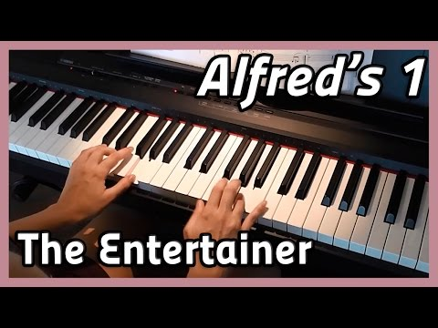 ♪ The Entertainer ♪ Piano | Alfred's 1