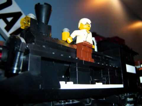 My Lego Back To The Future Part III Wild West Train & Railroad D.wmv