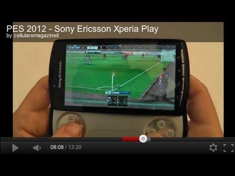 PES 2012 - Sony Ericsson Xperia Play