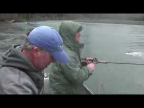 Hoh River, Washington Steelhead Fishing