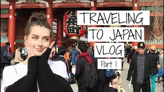 Traveling to JAPAN! | Japanese Travel Vlog - Part 1 | Jessica Clements