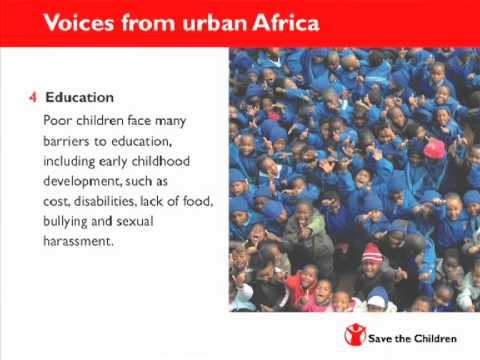 Voices from Urban Africa Report 2012