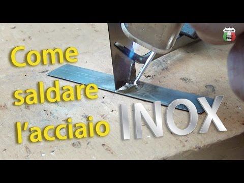 Saldare l'acciaio inox (senza saldatrice)   Castolin 157