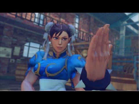 Ultra Street Fighter IV - Chun-Li vs C Viper Rival Battle  PS3 Gameplay