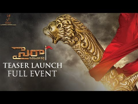 Sye Raa Narasimha Reddy Teaser Launch Full Event | Chiranjeevi | Ram Charan | Surender Reddy