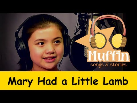 Muffin Songs - Mary Had a Little Lamb | nursery rhymes & children songs with lyrics