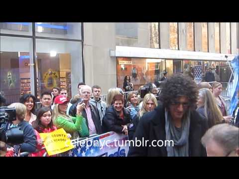Television America's Got Talent  judge Howard Stern in New York