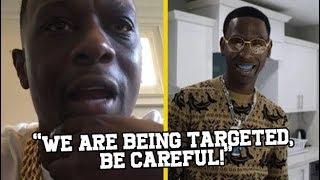 """Boosie & Young Dolph Warns Rappers At All Star Weekend! """"POLICE ARE TARGETING US"""""""