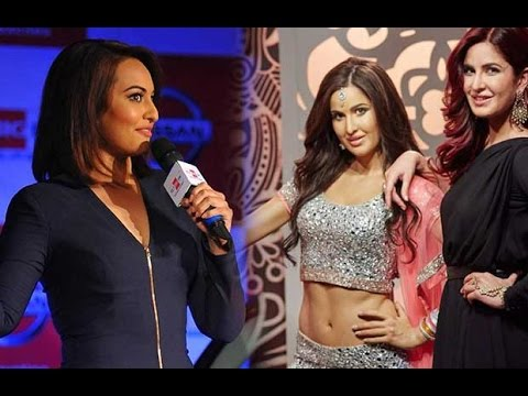 Sonakshi Sinha's Comment On Katrina Kaif's Wax Statue