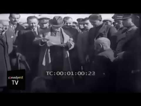 Atatürk'ün hiçbir yerde görmediğiniz görüntüleri