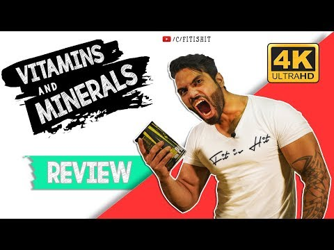 Fit Is Hit | Vitamins & Minerals |  Reviews | Episode 3 | Fitness 2017 thumbnail