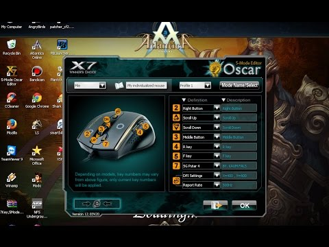 CARA SETTING MOUSE MACRO X7 F7 SG