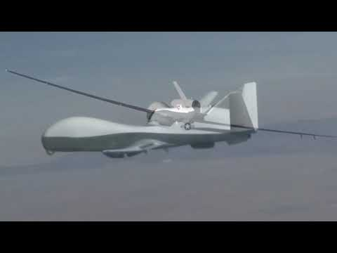 Northrop Grumman - MQ-4C Triton High Altitude Long Endurance UAS First Flight [1080p]