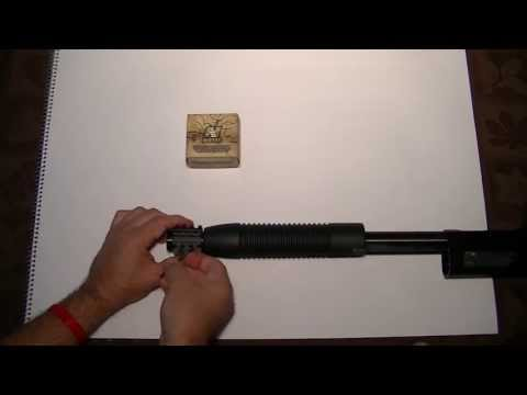 NcStar Tri-Rail (MT12G) installing on Mossberg Maverick 88 Special Purpose 12 Ga