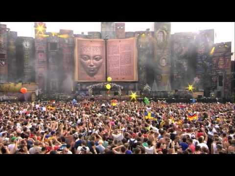 Hardwell ft  D MC at Tomorrowland 2012 Music Videos