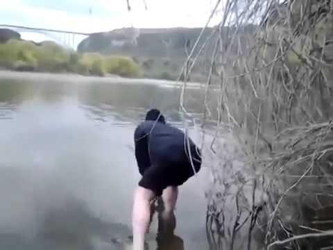 вот как нужно ловить рыбу