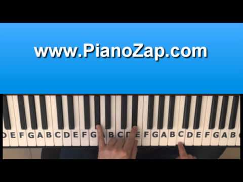 How To Play Won't Stop - Sean Kingston   Justin Bieber On Piano - Tutorial video