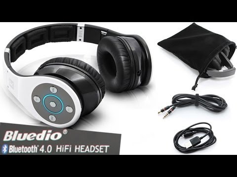 Bluedio R Bluetooth Stereo Headset HiFi Music Experience/ Wireless Headphones Pairing Review